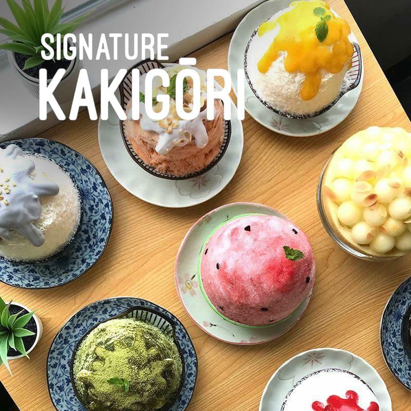 Mykori Dessert Cafe Kakigori Taiyaki Desserts In Malaysia