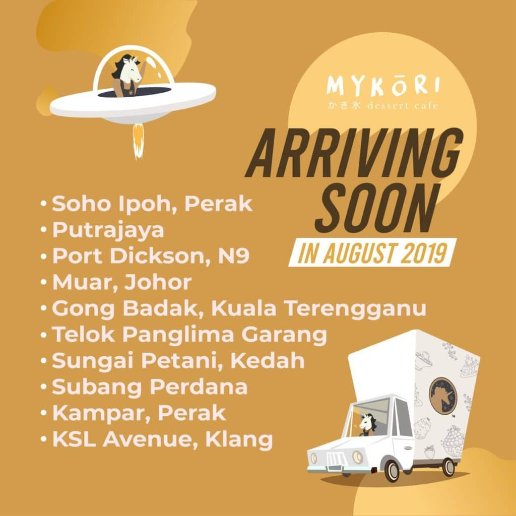 Mykori - New Outlets Opening in August 2019